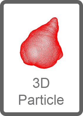 Particule 3D, Occhio, instruments de laboratoire