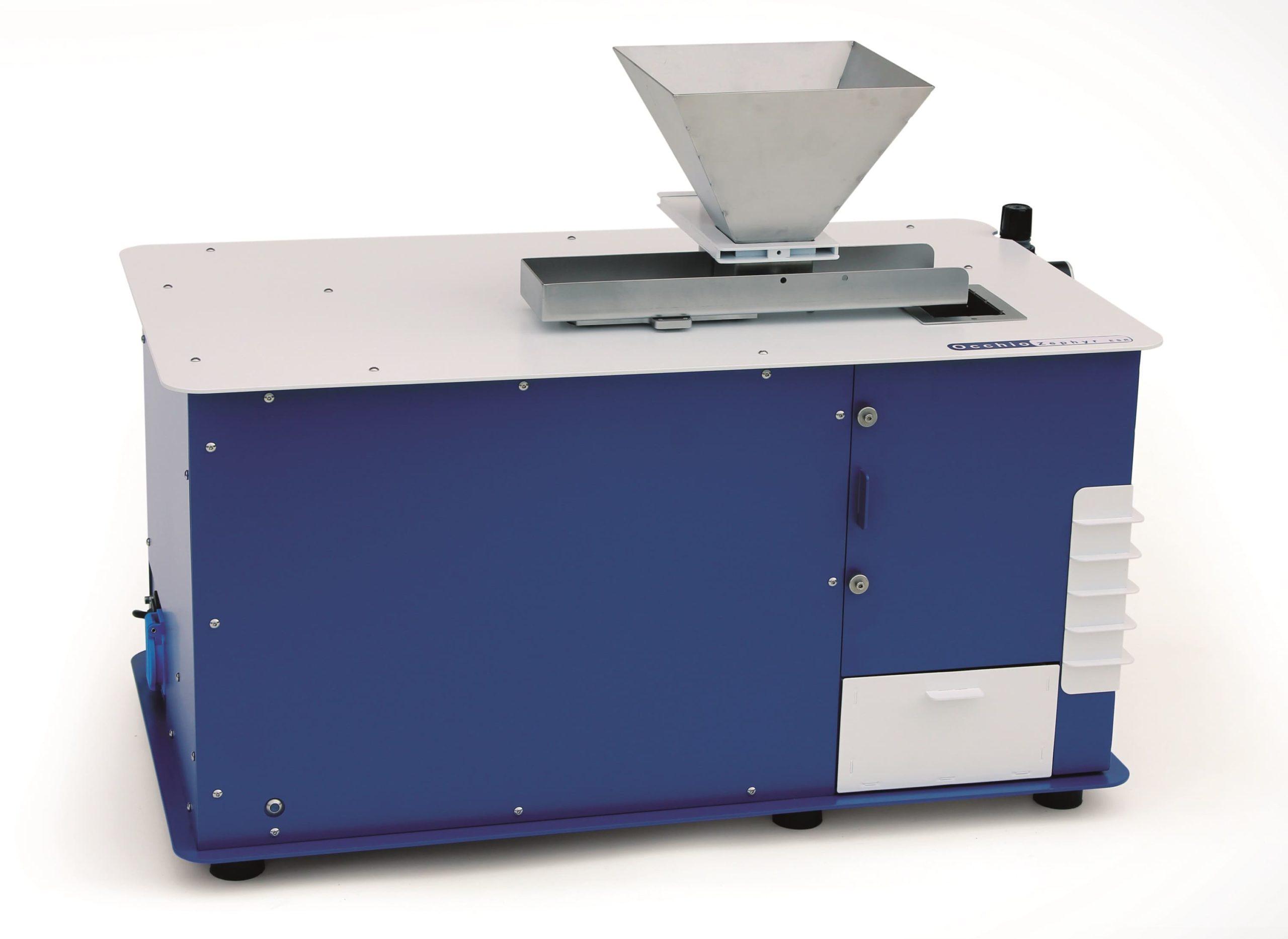 Zephyr ESR - Analyse granulométrique des échantillons tamisables